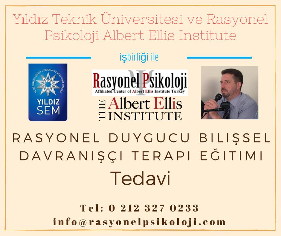 Yıldız Teknik Üniversitesi surekli egitim merkezi ve Rasyonel Psikoloji ortak egitim