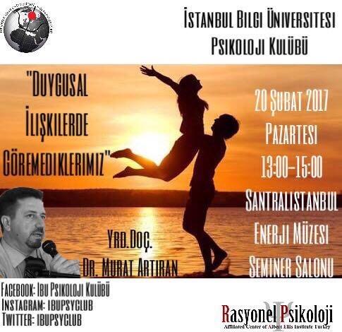 Bilgi Universitesi Yrd Doc Dr Murat Artiran-Rasyonel Psikoloji