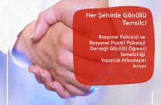 Rasyonel Psikoloji Albert Ellis Enstitüsü Türkiye Gönüllü Öğrenci Temsilciliği Programı: