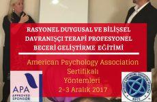APA Belgeli Çalıştay 2-3 Aralık 800 TL !