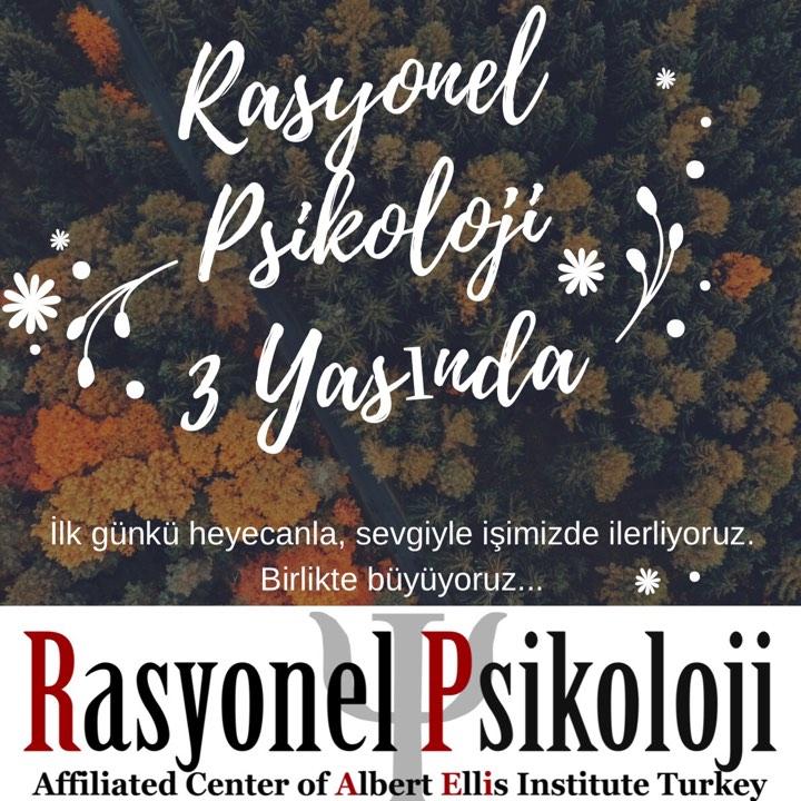 RASYONEL PSİKOLOJİ 3. YILINI KUTLUYOR.