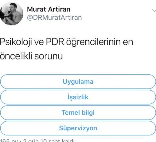 TWITTER ANKETİMİZ